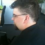 Olli mit neuer Frisur