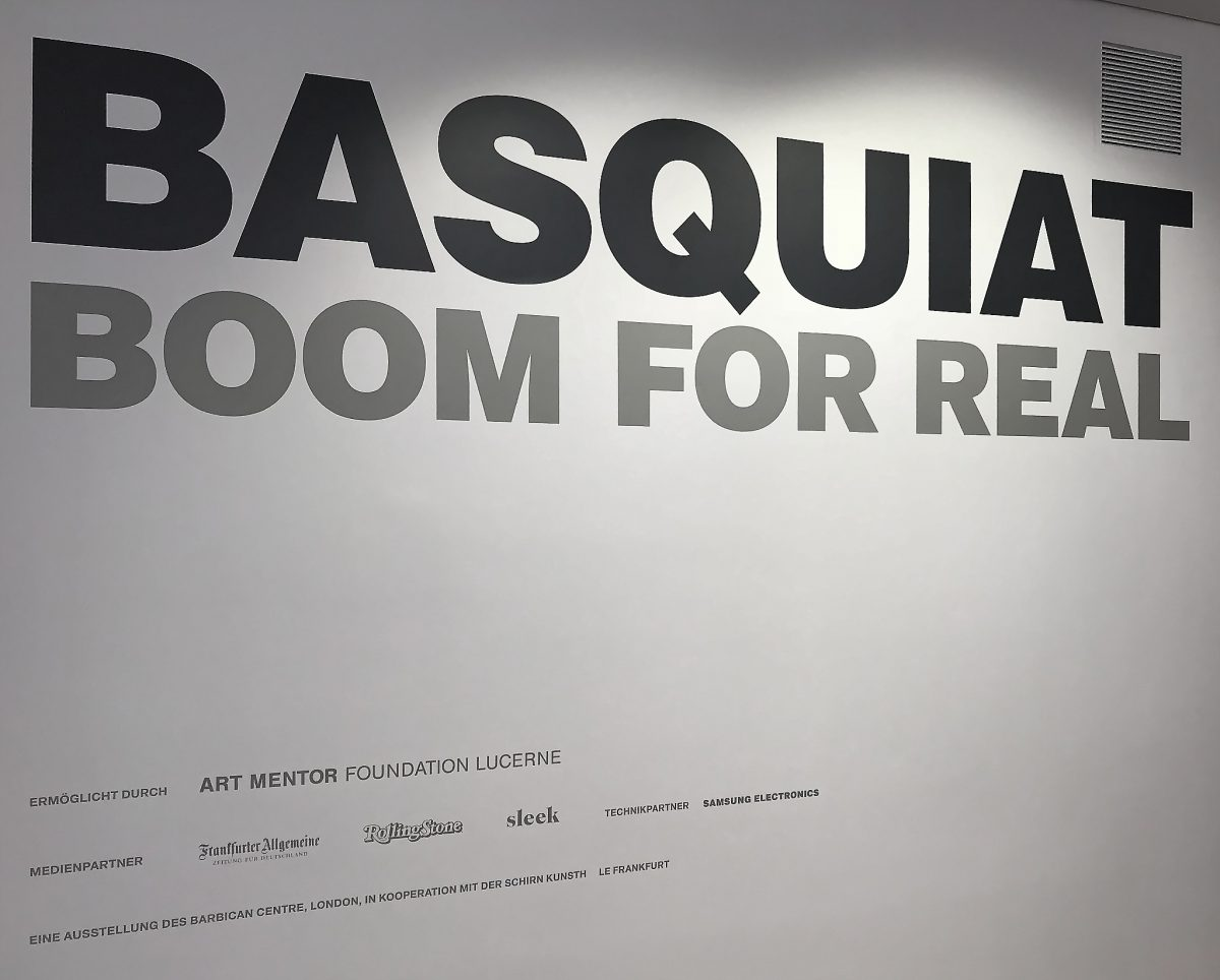 "Kunsthalle Schirn: ""Basquiat – Boom for real"""