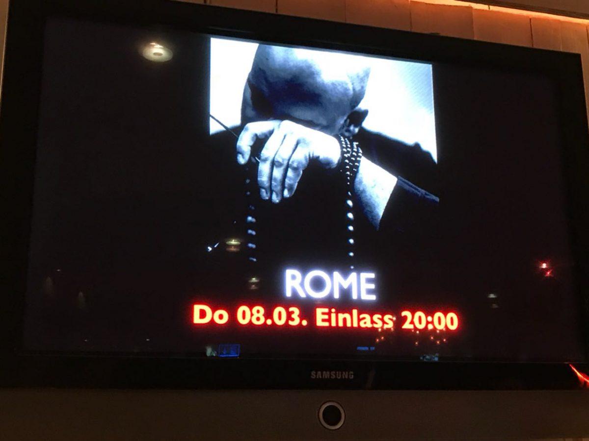 ROME im Nachtleben Frankfurt 08.03.2018